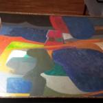 Maurice Esteve peinture mate dégradée