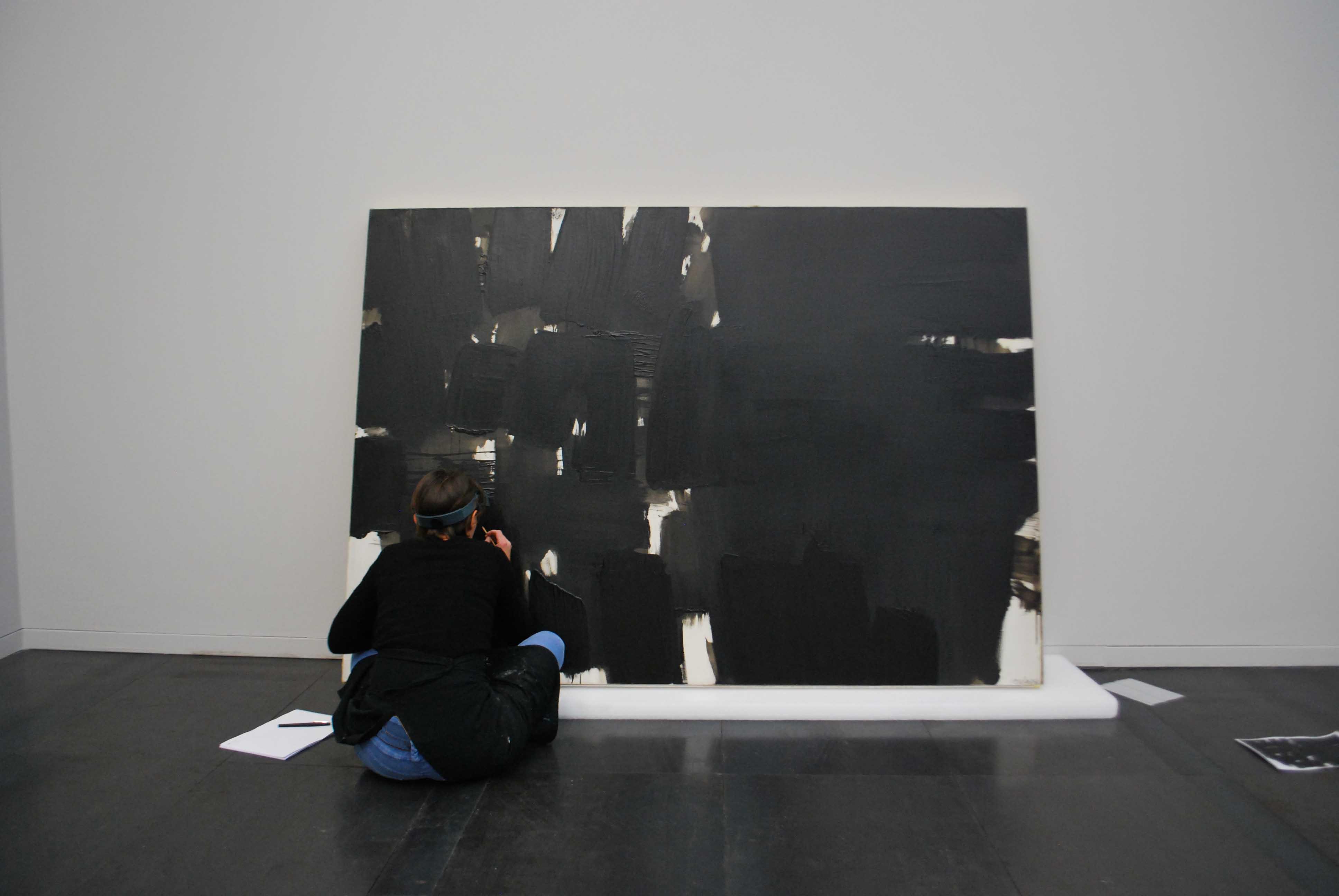 Atelier de restauration de peinture La GrandièreRestaurer